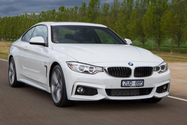 BMW 420d front