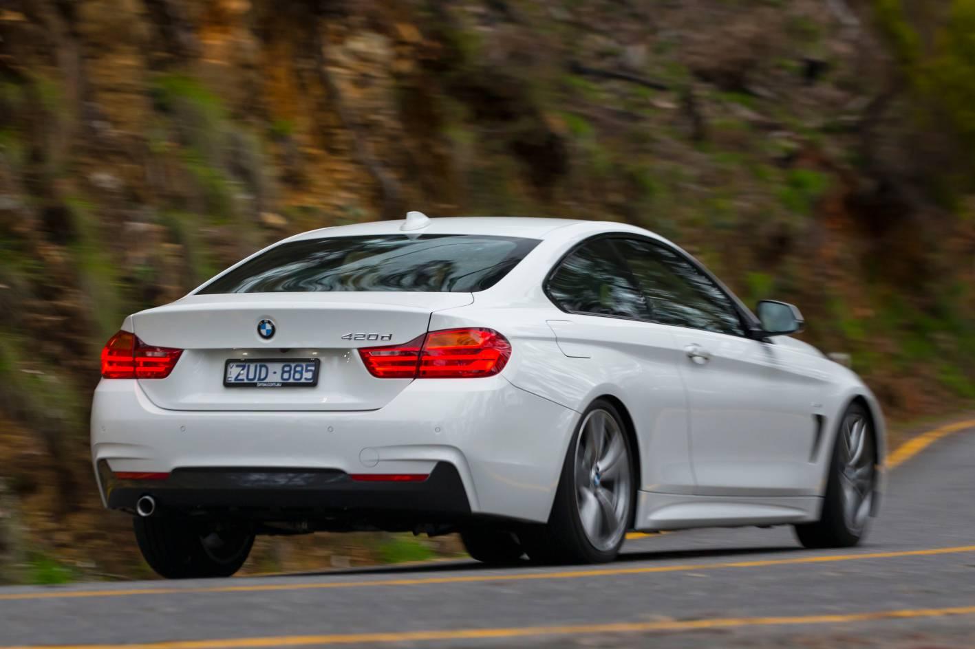BMW 420d rear - ForceGT.com