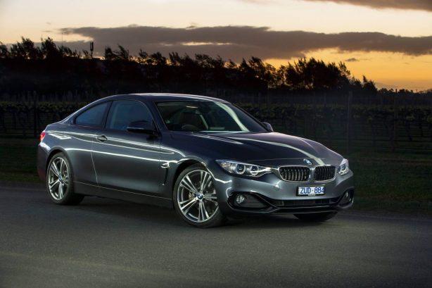 BMW 428i front quarter