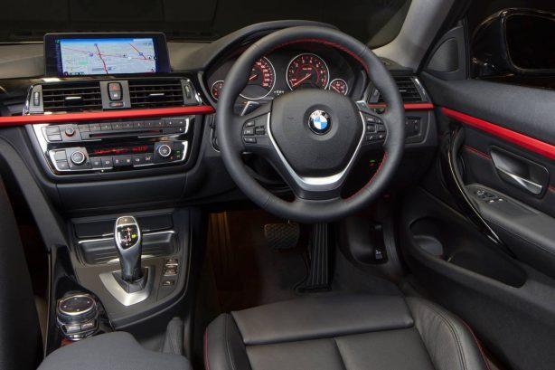 BMW 428i interior dashboard