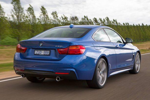BMW 435i rear quarter