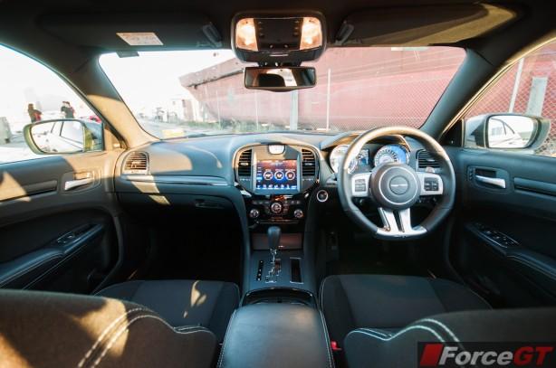 Chrysler 300 Review-2013 SRT8 Core interior