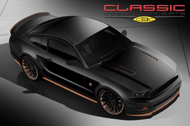 Classic Design Concepts Bad Penny Mustang