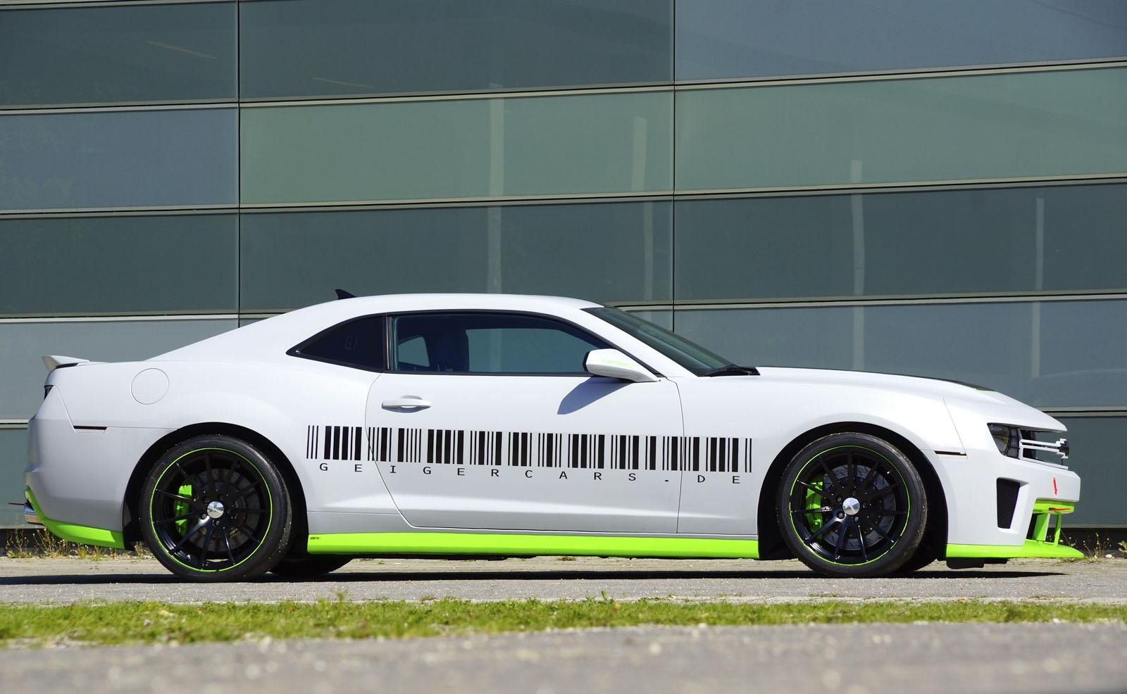 Chevrolet Cars - News: Geigercars tuned Camaro LS9