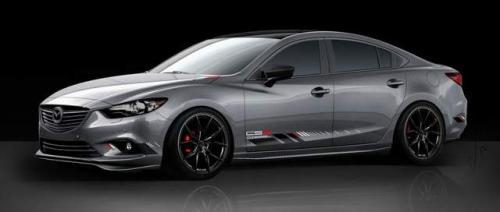 Grey Mazda6 concept for 2013 SEMA