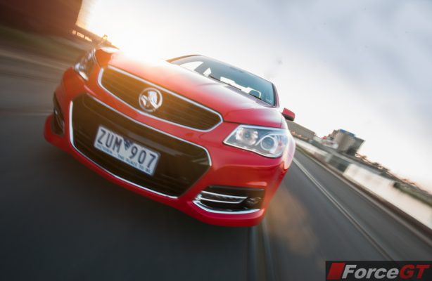 Holden Commodore Review-2013 SSV Redline front