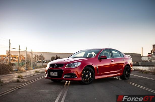 Holden Commodore Review-2013 SSV Redline front quarter