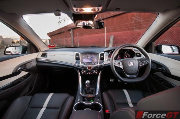 Holden Commodore Review-2013 SSV Redline interior dashboard