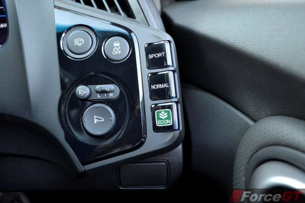 Honda CR-Z Review-2013 Honda CR-Z 3 mode drive system