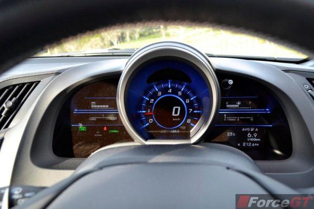 Honda CR-Z Review-2013 Honda CR-Z instruments