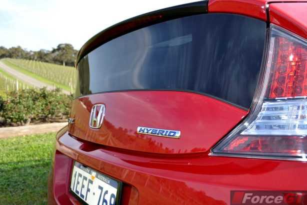 Honda CR-Z Review-2013 Honda CR-Z rear window