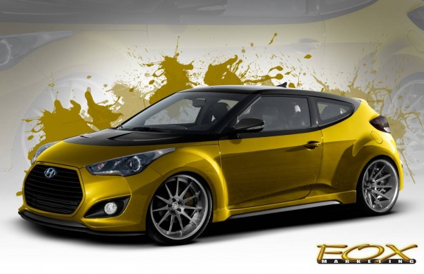 Hyundai Fox Marketing Veloster Turbo