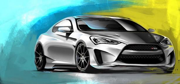 Hyundai-Genesis-Coupe-Legato-Concept-SEMA-front-quarter