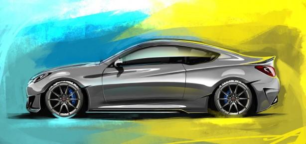 Hyundai-Genesis-Coupe-Legato-Concept-SEMA-side
