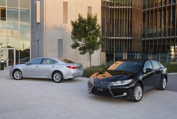 Lexus ES range