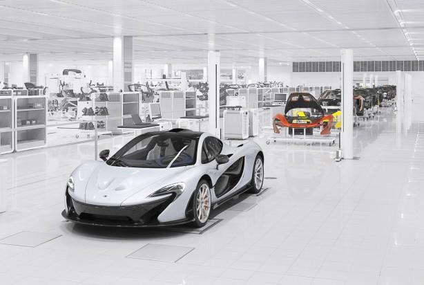 McLaren P1 factory