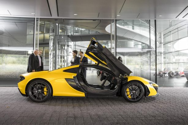McLaren P1 first customer delivery