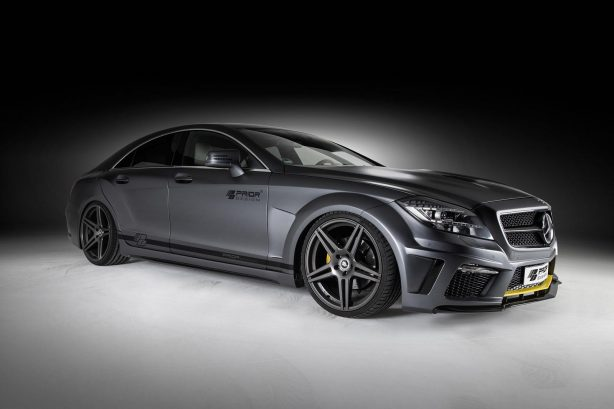 Mercedes-Benz CLS PD550 Black Edition by Prior Design front quarter-1