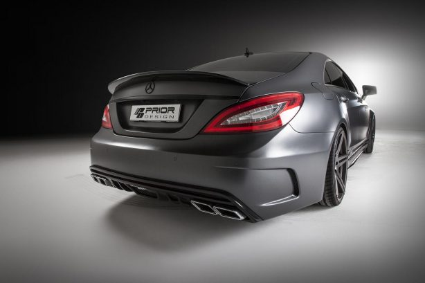 Mercedes-Benz CLS PD550 Black Edition by Prior Design rear