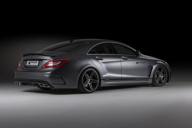 Mercedes-Benz CLS PD550 Black Edition by Prior Design rear quarter