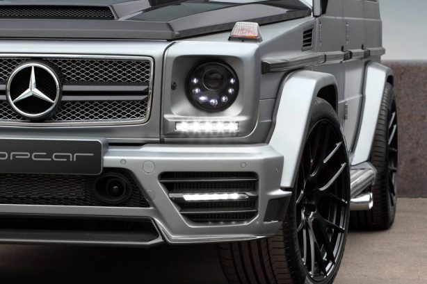 Mercedes-Benz G65 AMG Mansory by TopCar front lights