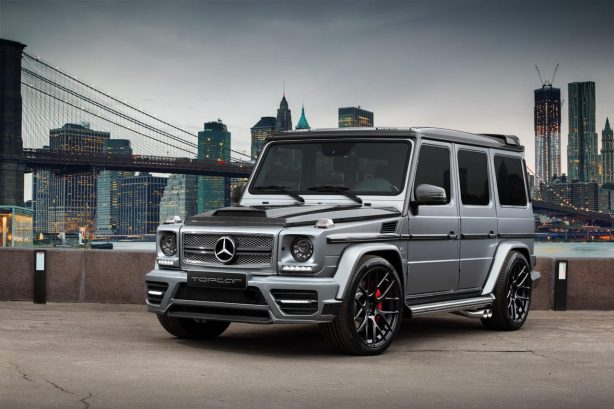 Mercedes-Benz G65 AMG Mansory by TopCar front quarter