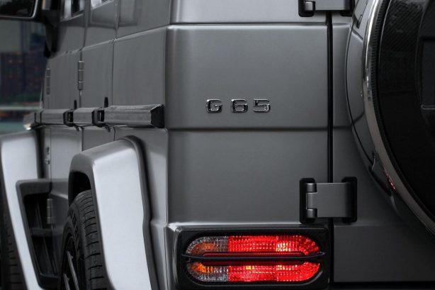 Mercedes-Benz G65 AMG Mansory by TopCar rear badge
