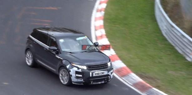 Range Rover Evoque RS prototype