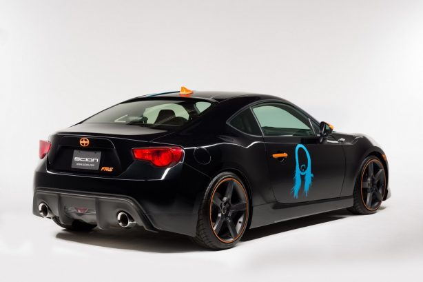 Scion x FR-S rear quarter