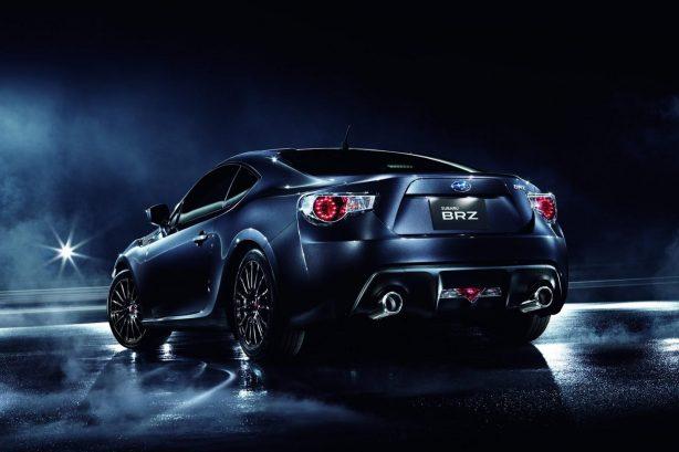 Subaru BRZ Premium Sport Edition rear quarter
