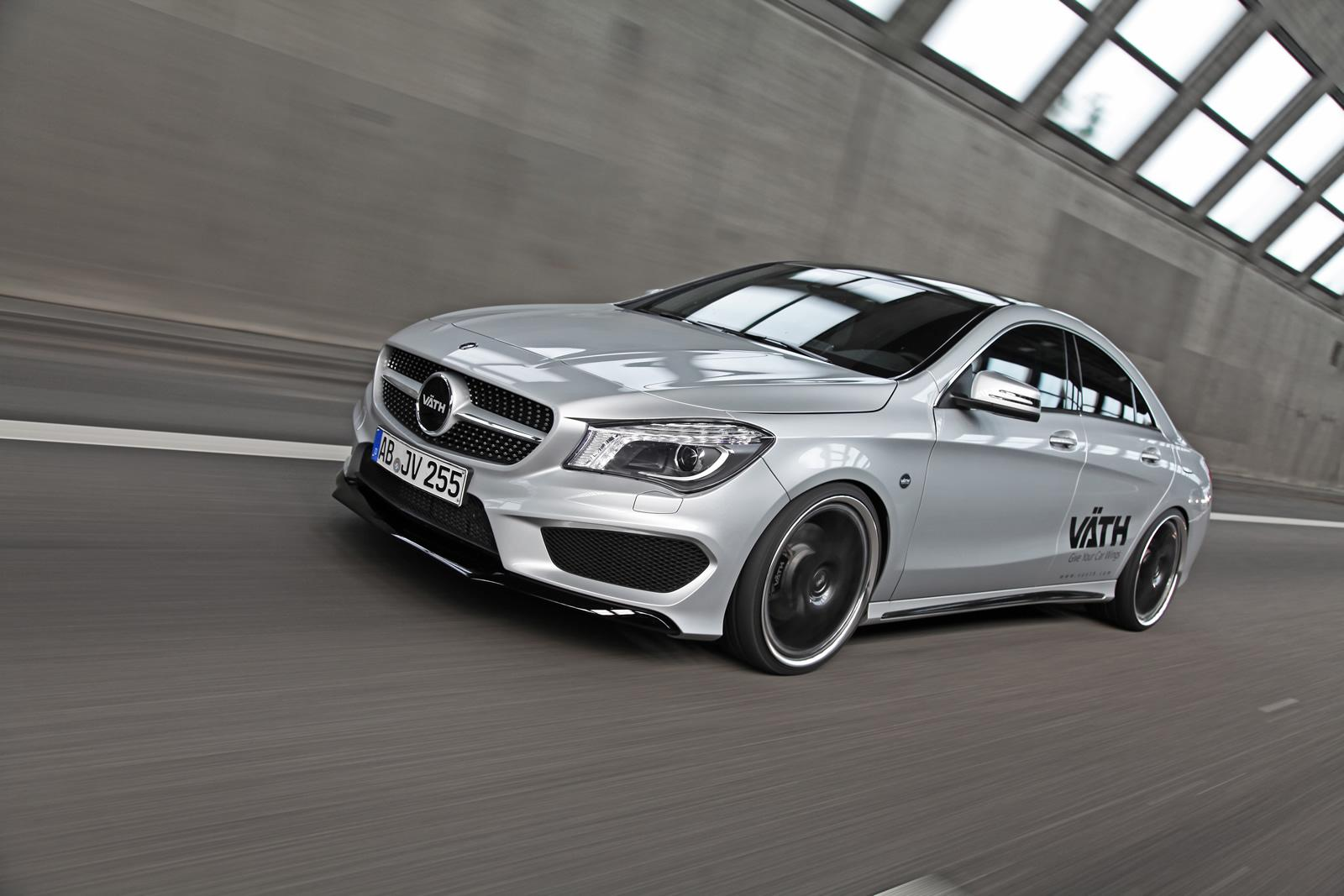Mercedes Cars - Tuning: VÄTH tuned Mercedes CLA 250 with 192kW