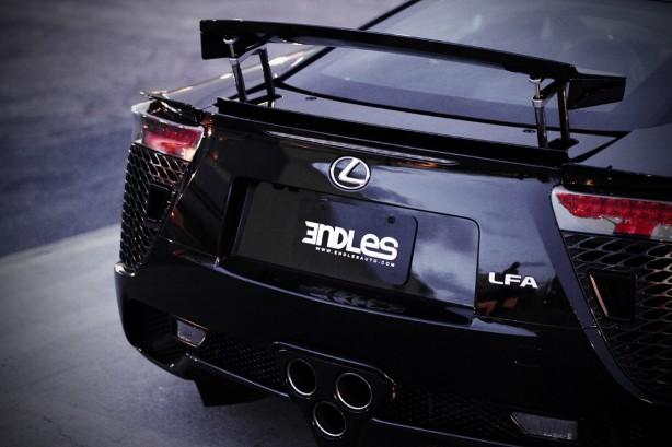 2012 Lexus LFA De Alwis rear