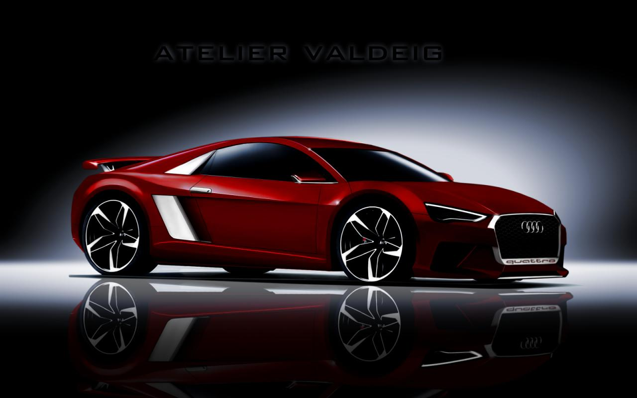 Audi Cars - News: Next-gen Audi R8 realistically rendered