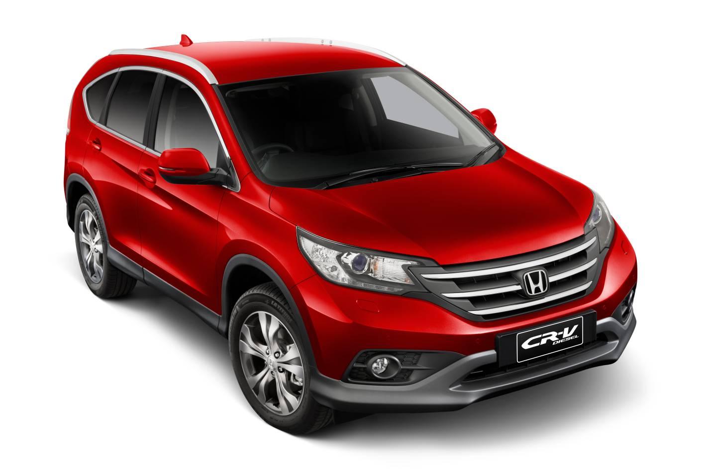 Honda Cars - News: Diesel Variant to join CR-V Range