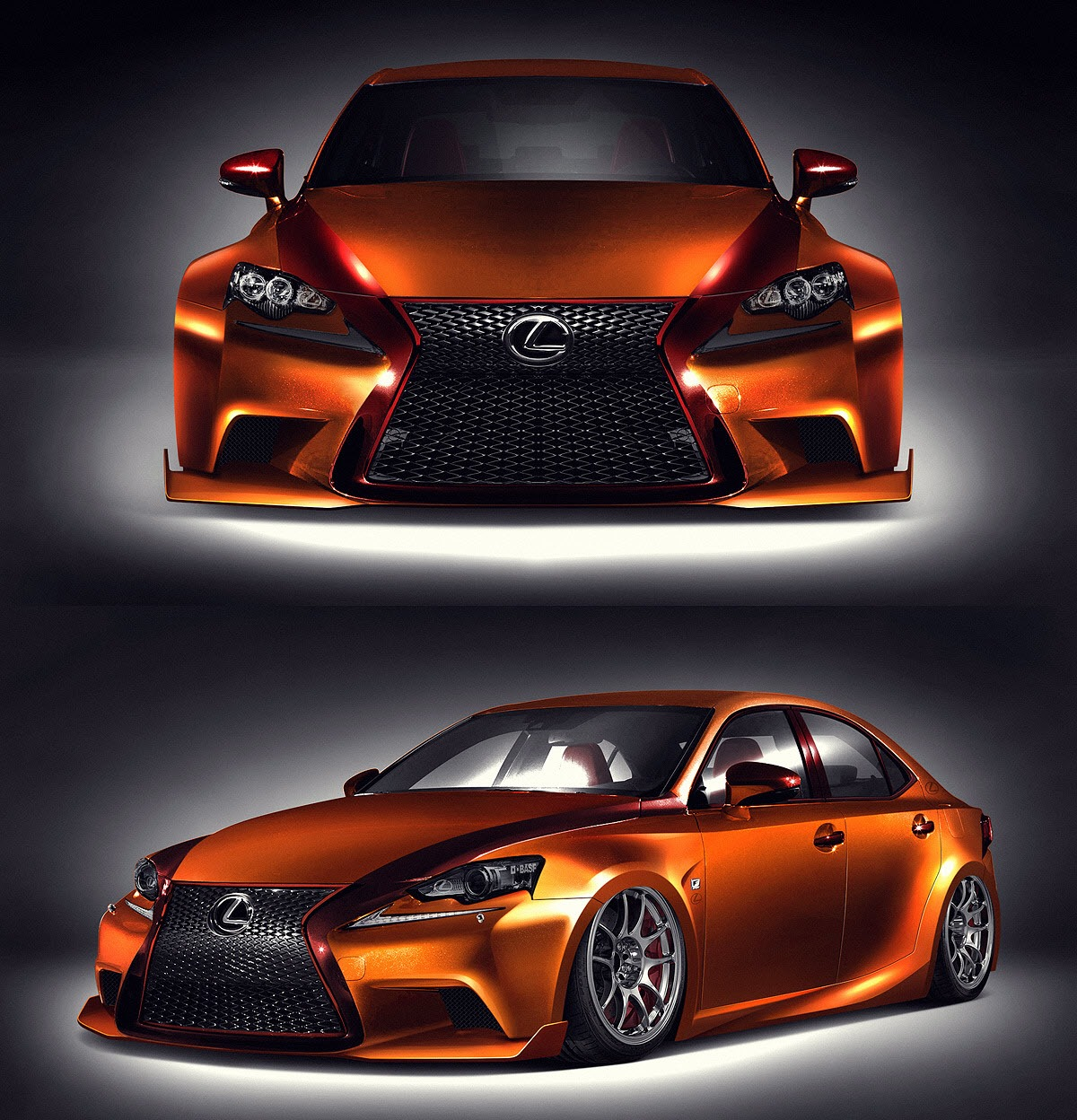 Lexus Is 350 Sport: News: Customised Sedans For 2013 SEMA Show