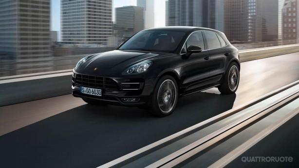 2014 Porsche Macan leaked image front quarter