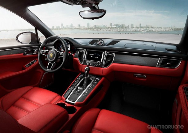 2014 Porsche Macan leaked image interior