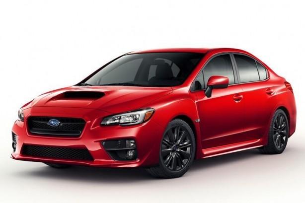 2014 Subaru WRX front quarter leaked image