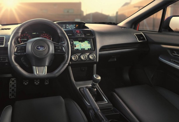 2014 Subaru WRX interior dashboard