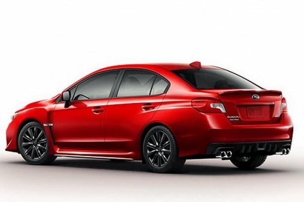 2014 Subaru WRX rear quarter leaked image