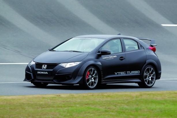 2015 Honda Civic Type-R front quarter
