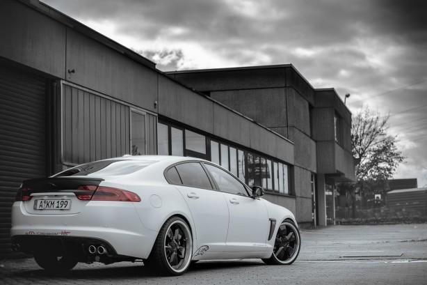 2M-Designs-tuned-Jaguar-XF-rear-quarter