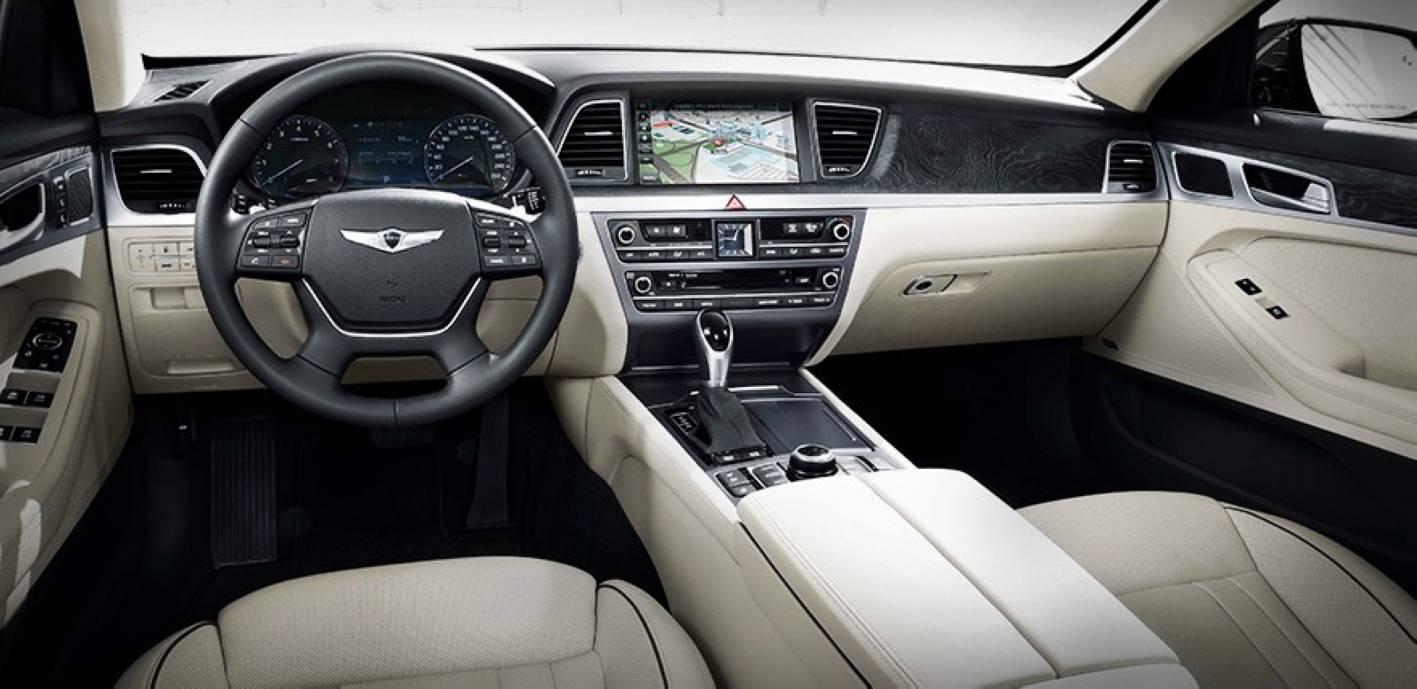 Beau All New Hyundai Genesis Interior