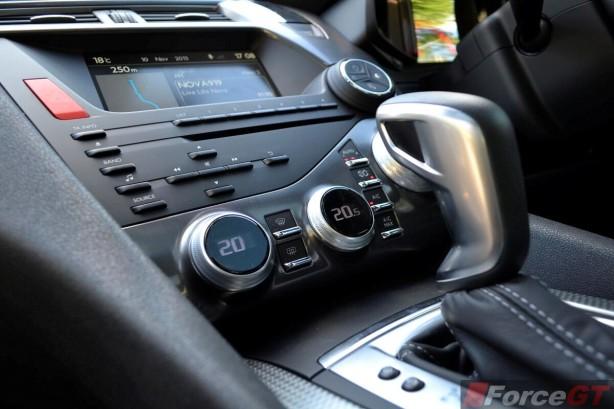 Citroen DS5 Review-2013 DS5 climate control