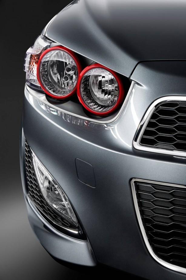 Holden Barina RS headlight