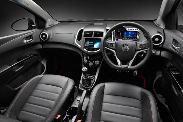 Holden Barina RS interior dashboard