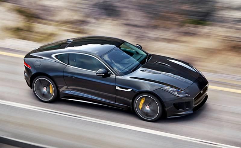 Jaguar Cars News Jaguar F Type Coupe First Photos