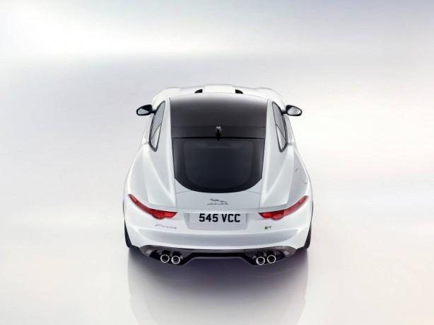 Jaguar F-Type R Coupe rear