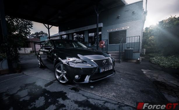 Lexus IS Review-2013 Lexus IS Sport Luxury front quarter