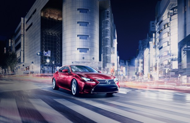Lexus RC Coupe front quarter